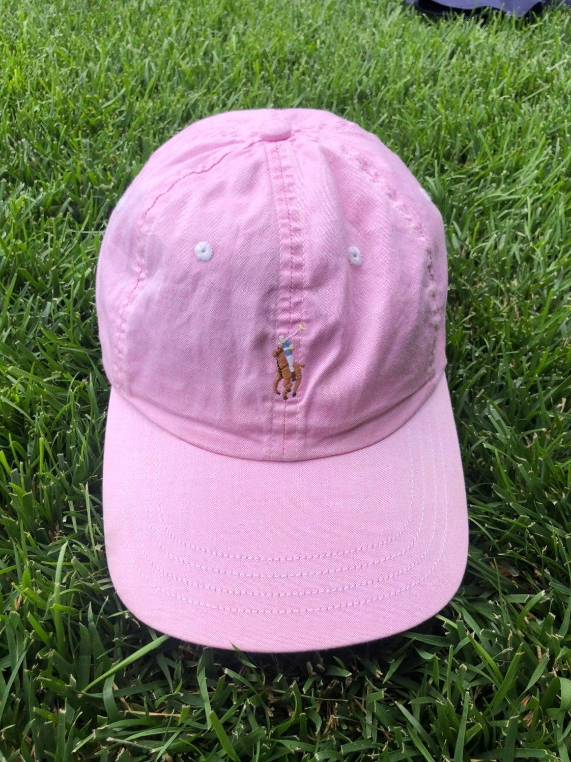 Vtg Ralph Lauren Polo strapback hat