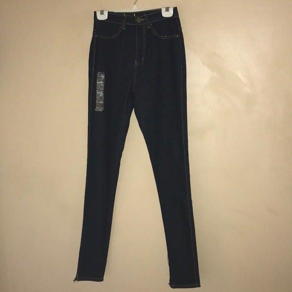 Ink Women's Hi-Rise Skinny Denim Jeans 5