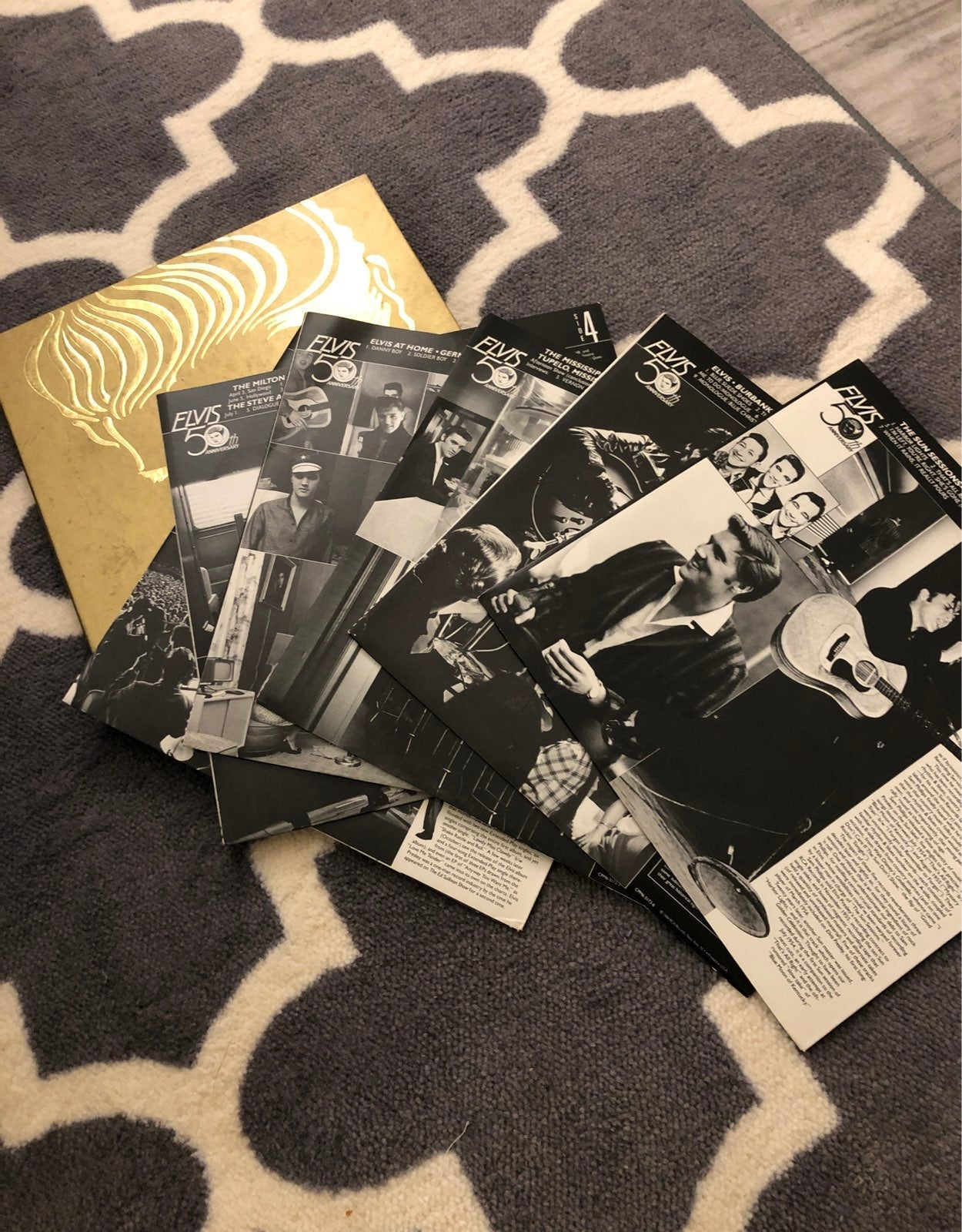 Elvis collectable vinyl set