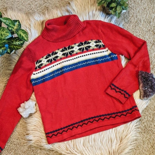 Crazy Horse Holiday Christmas Sweater
