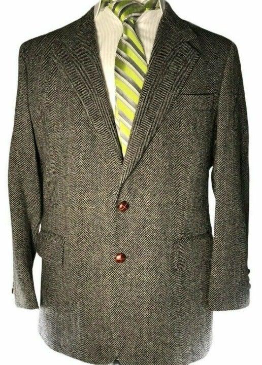 Savile Row Mens Two Button Blazer 41R