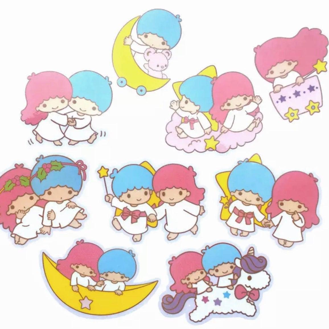 9 Little Twin Stars Waterproof Stickers