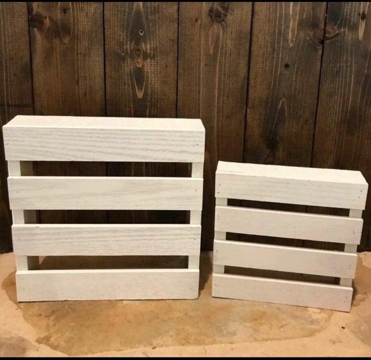 Wood Riser decor natural wood fin