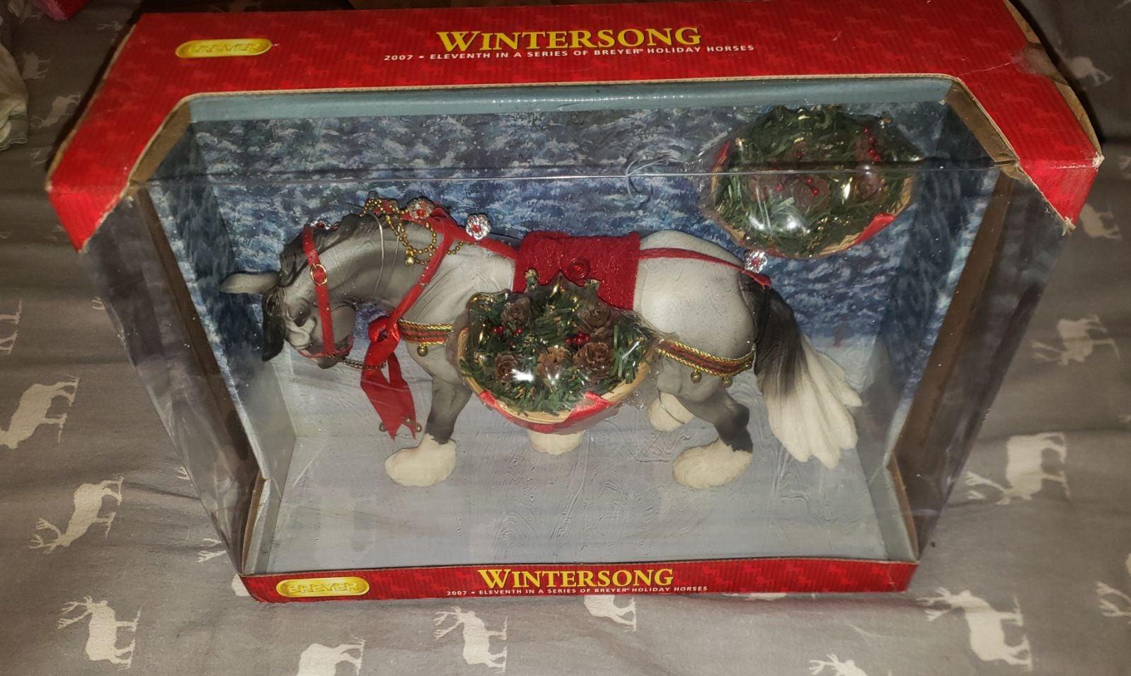 Breyer Wintersong Holiday Horse