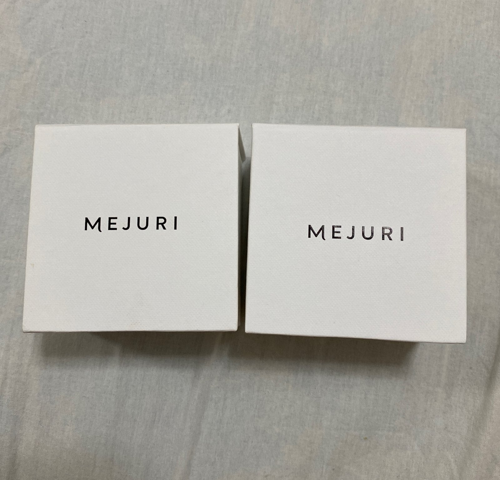 MEJURI Jewlery EMPTY BOX X2