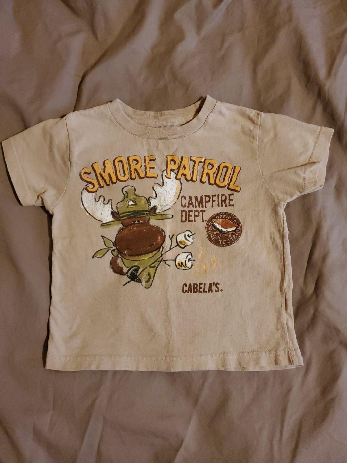 4t cabelas camping Shirt
