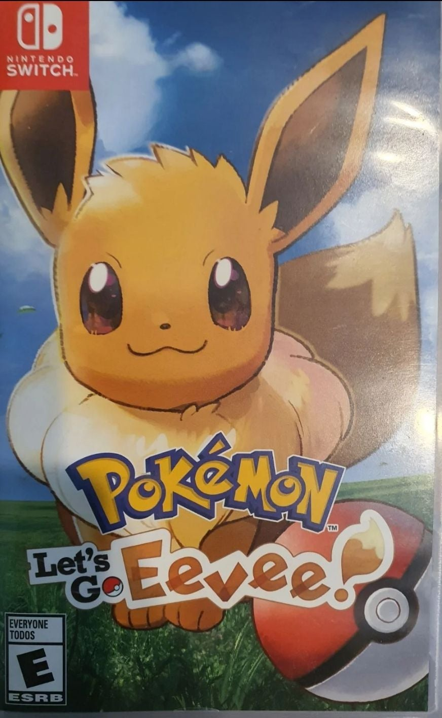 Pokémon: Let's Go, Eevee! on Nintendo Sw