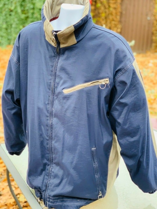 Vintage Columbia Mens Blue Insulated