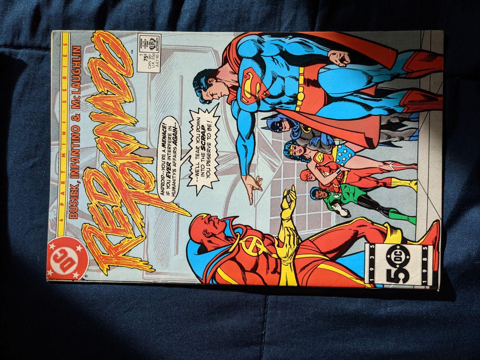 Red Tornado comic