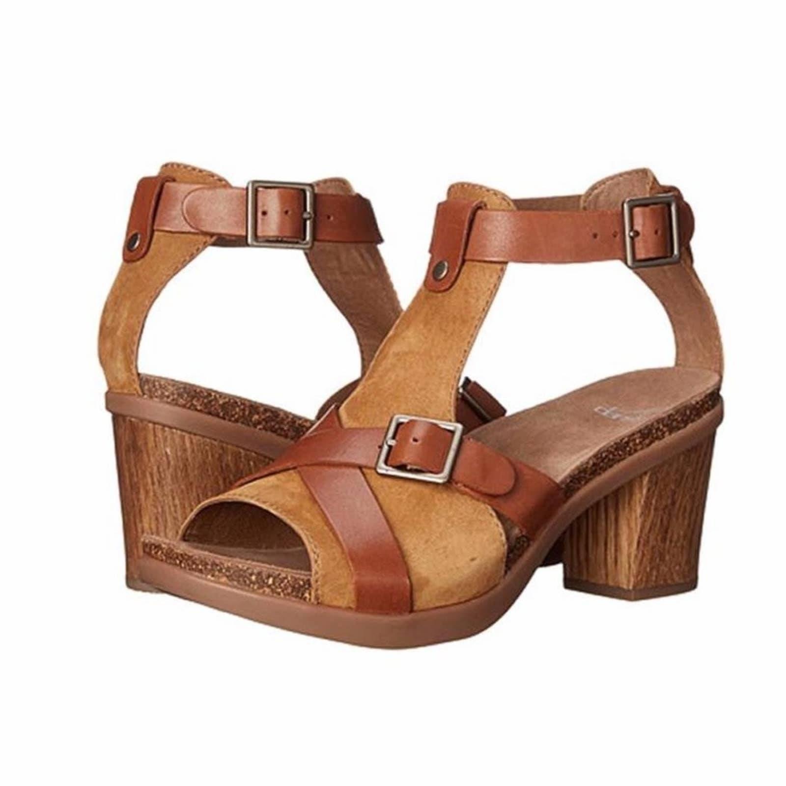 DANSKO Dominique Leather Pump Sandal