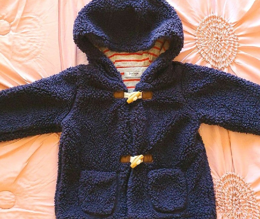 Baby Boden Fuzzy Oversized sweater 6-12m
