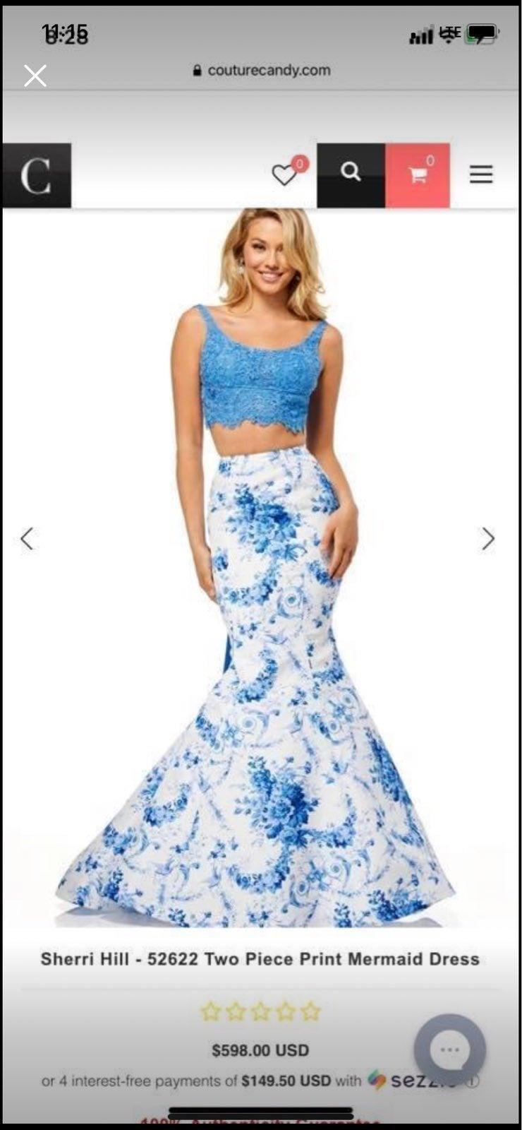 sherri hill Prom dress 2 piece.