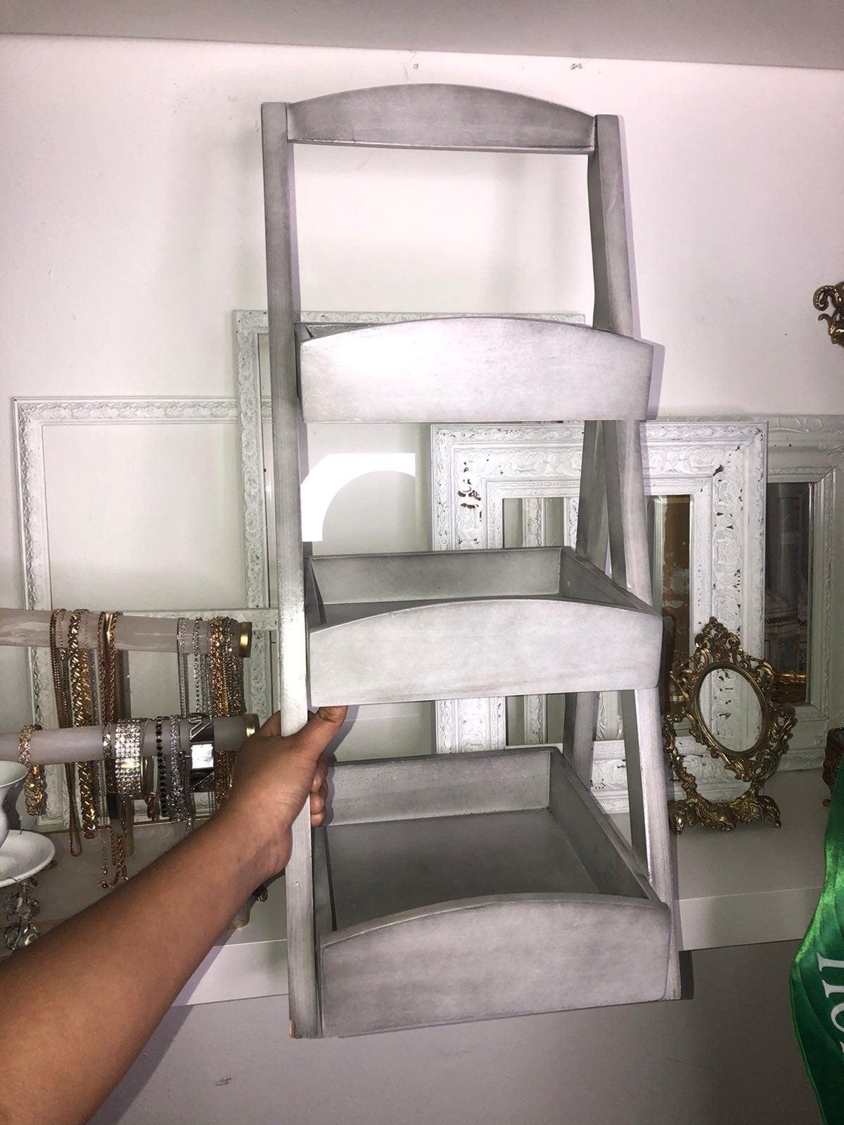 Shabby chic 3 tier shelf