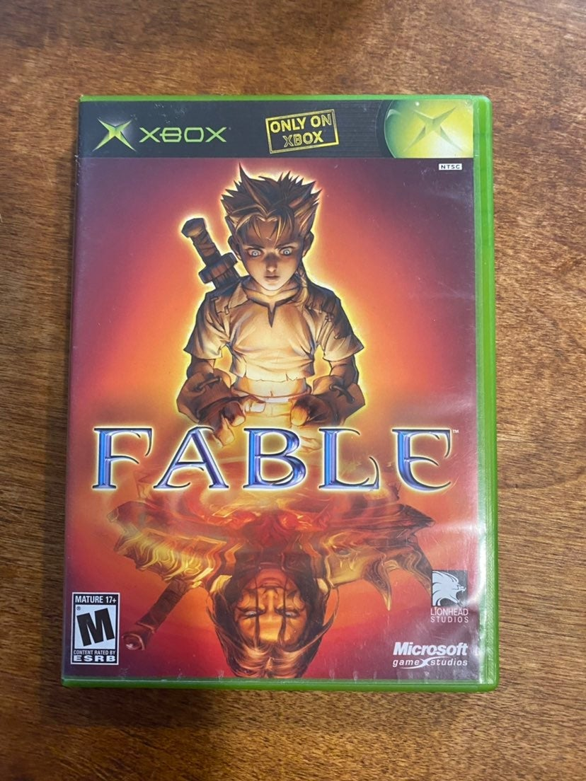 Fable Original Xbox Tested