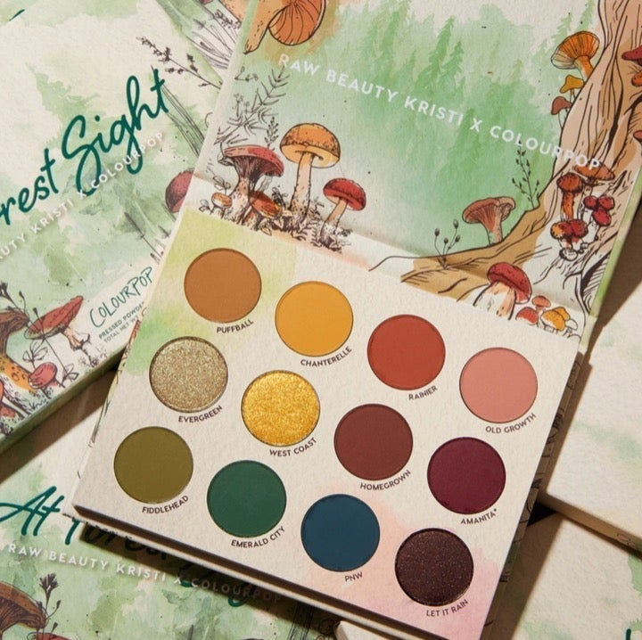 ColourPop At Forest Sight Palette