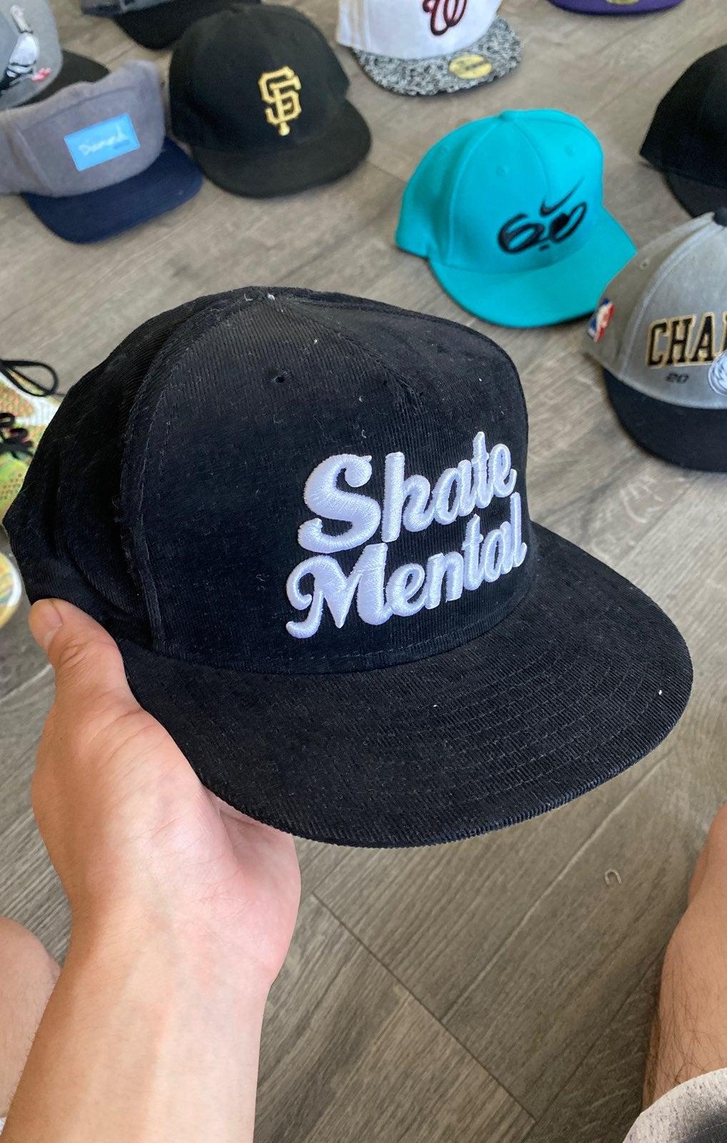 Skate mental corduroy hat