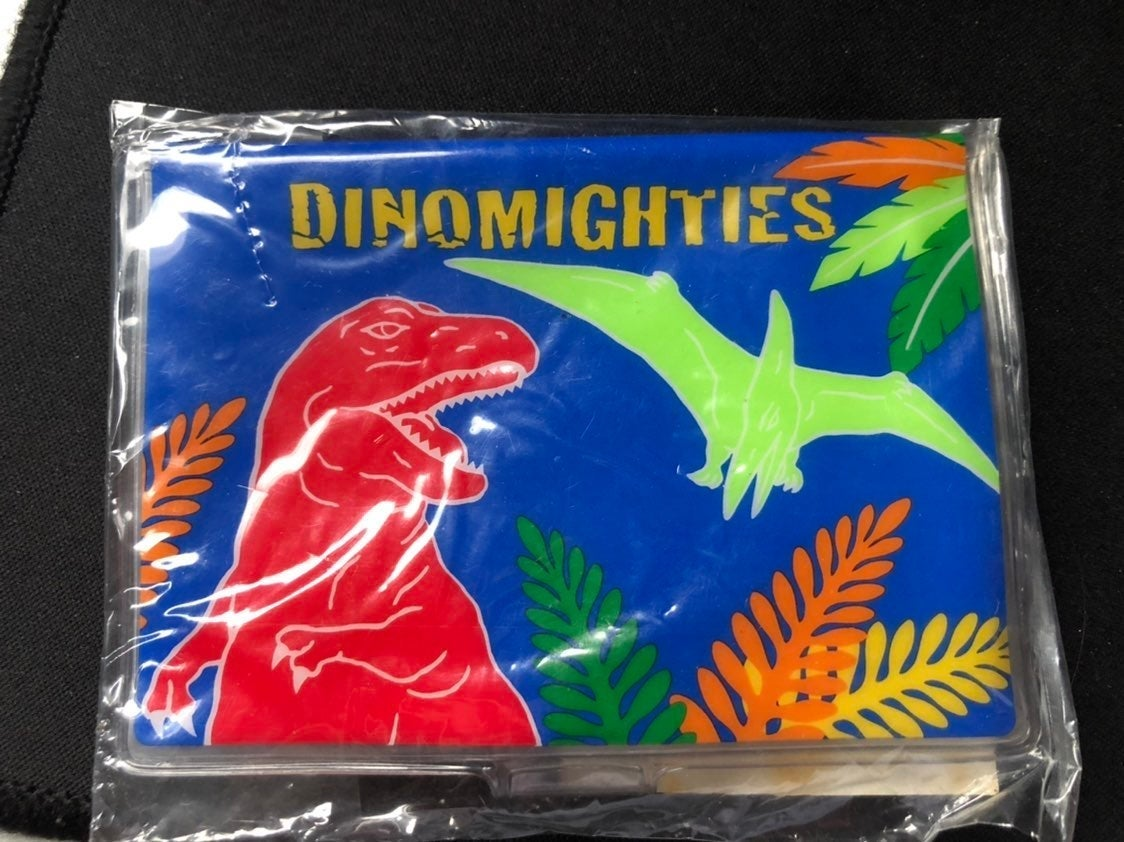 Sanrio 2000 Dinomighties ID Card Wallet