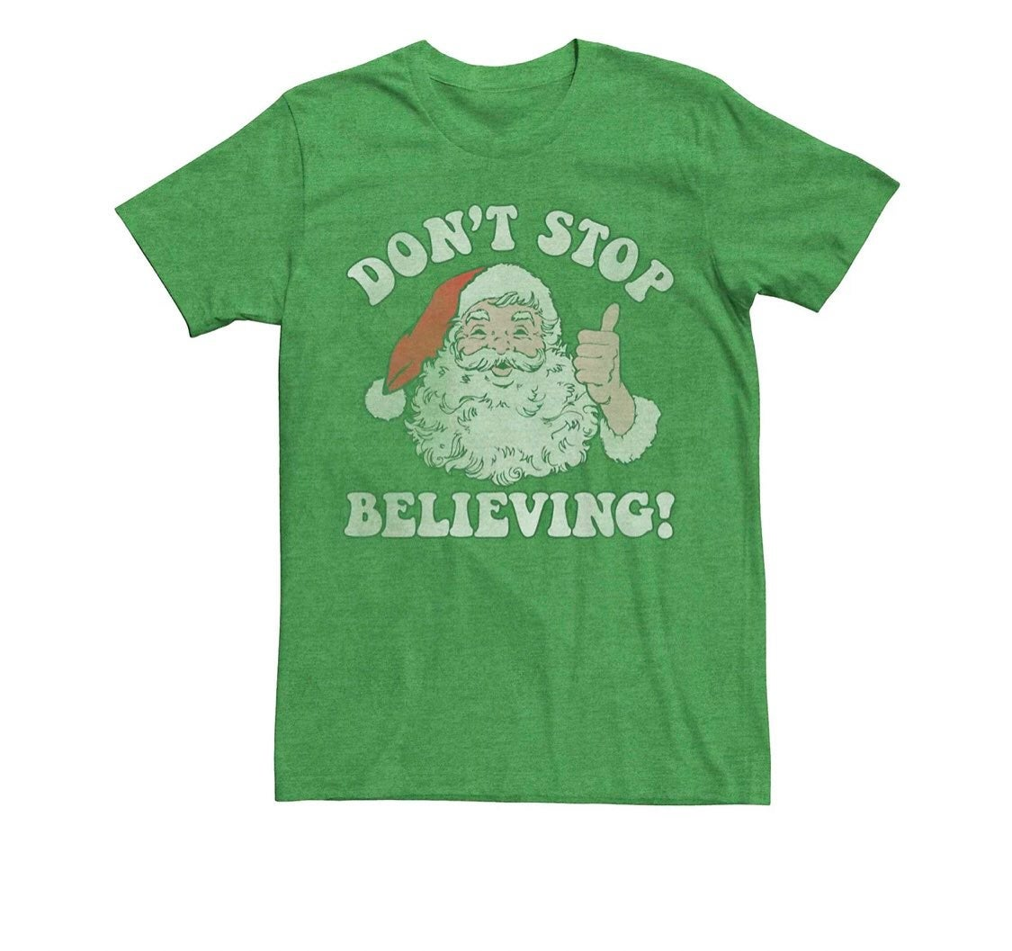 3x mens christmas santa tee shirt