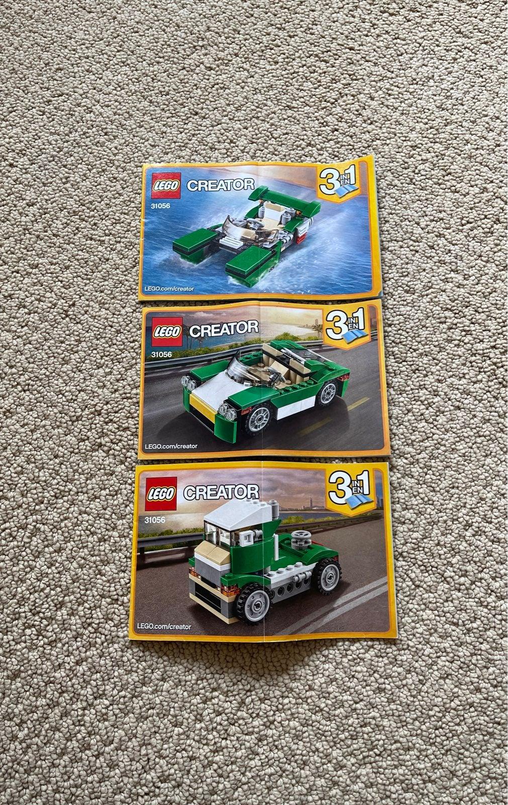 LEGO Creator 3-in-1: Green Cruiser