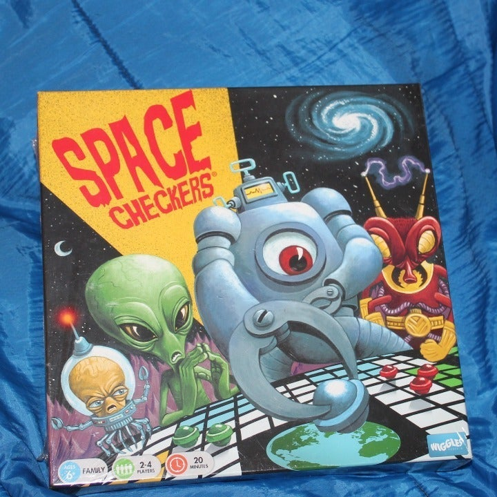 Space Checkers SEALED NEW