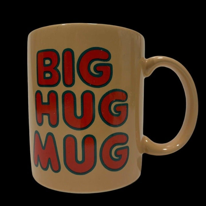 Big Hug Mug FTD Coffee Cup Vintage