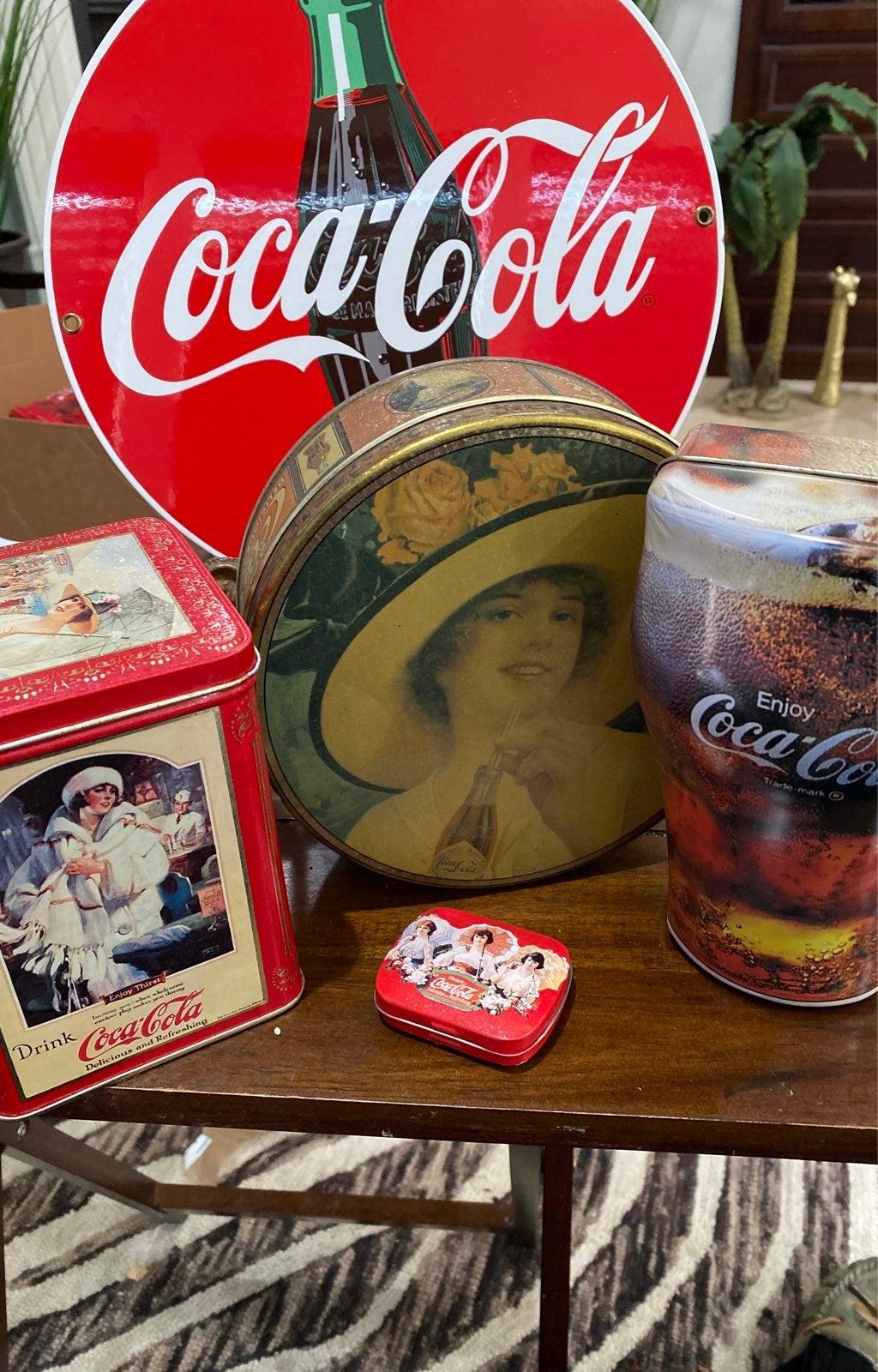 Coca Cola Tins