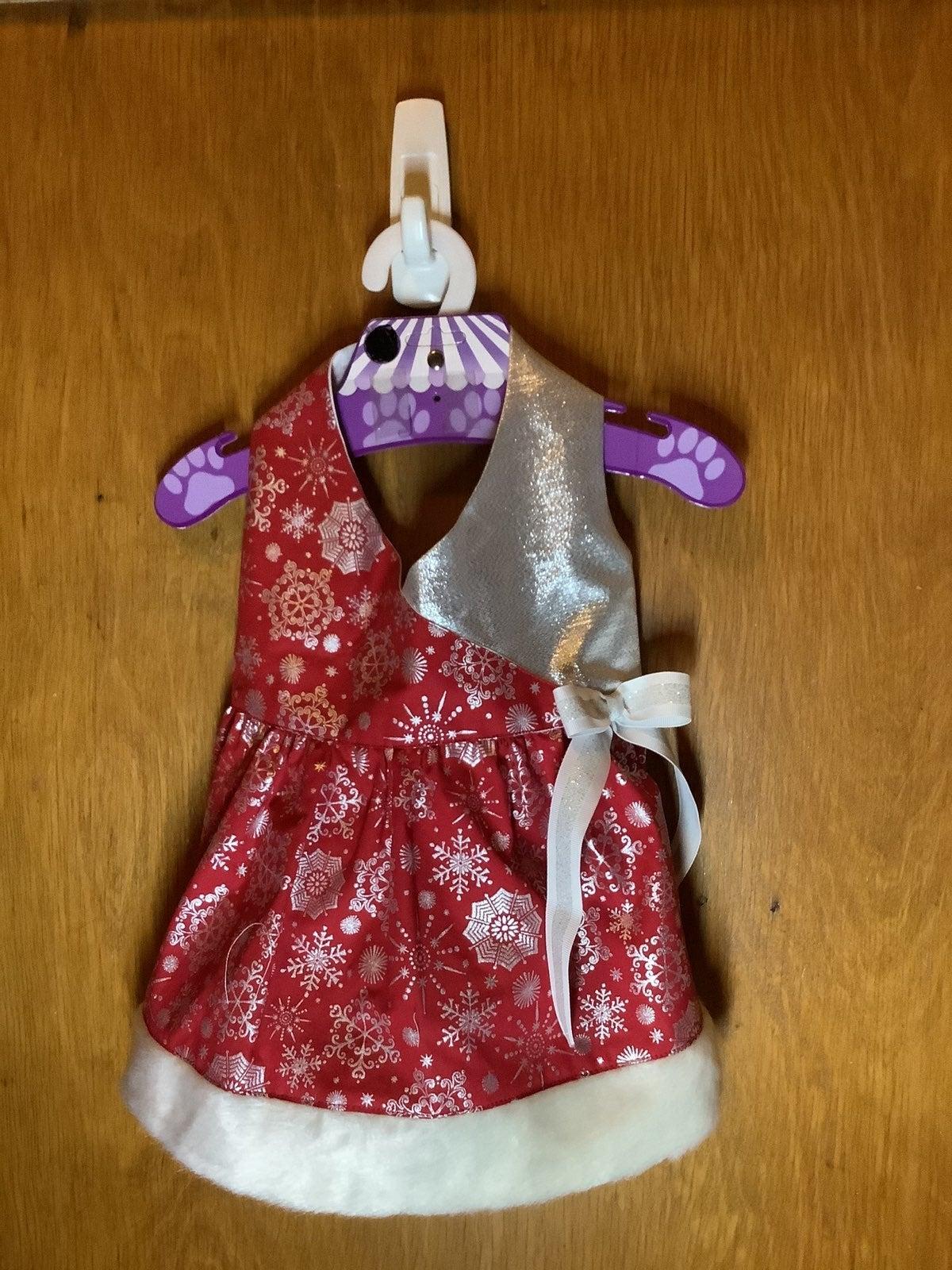Christmas snowflake dog  dress