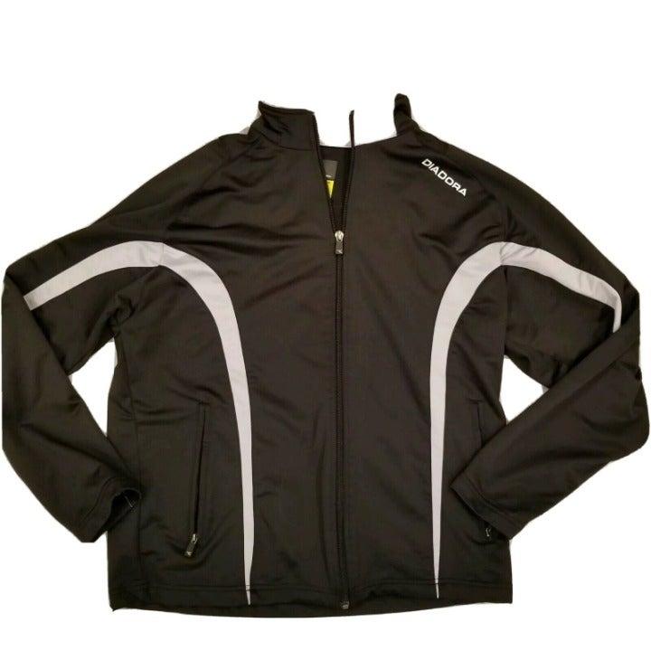 Diadora Italy Track Soccer Jacket Small