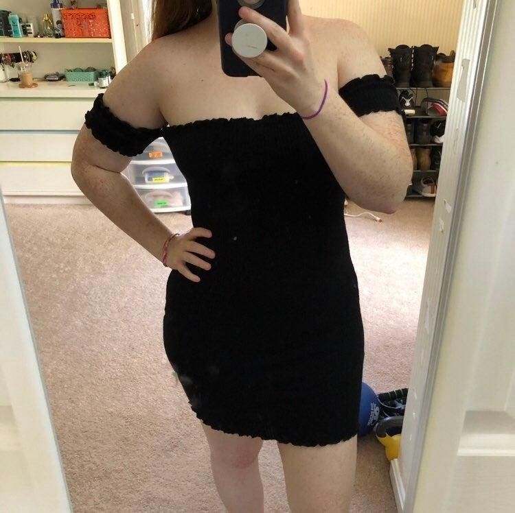 EUC Dolls Kill Strapless Dress size M