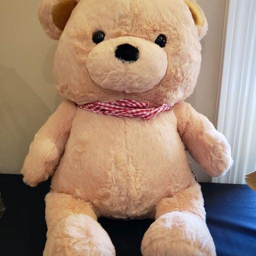 Fluffy Bear Crane Exclusive Plush