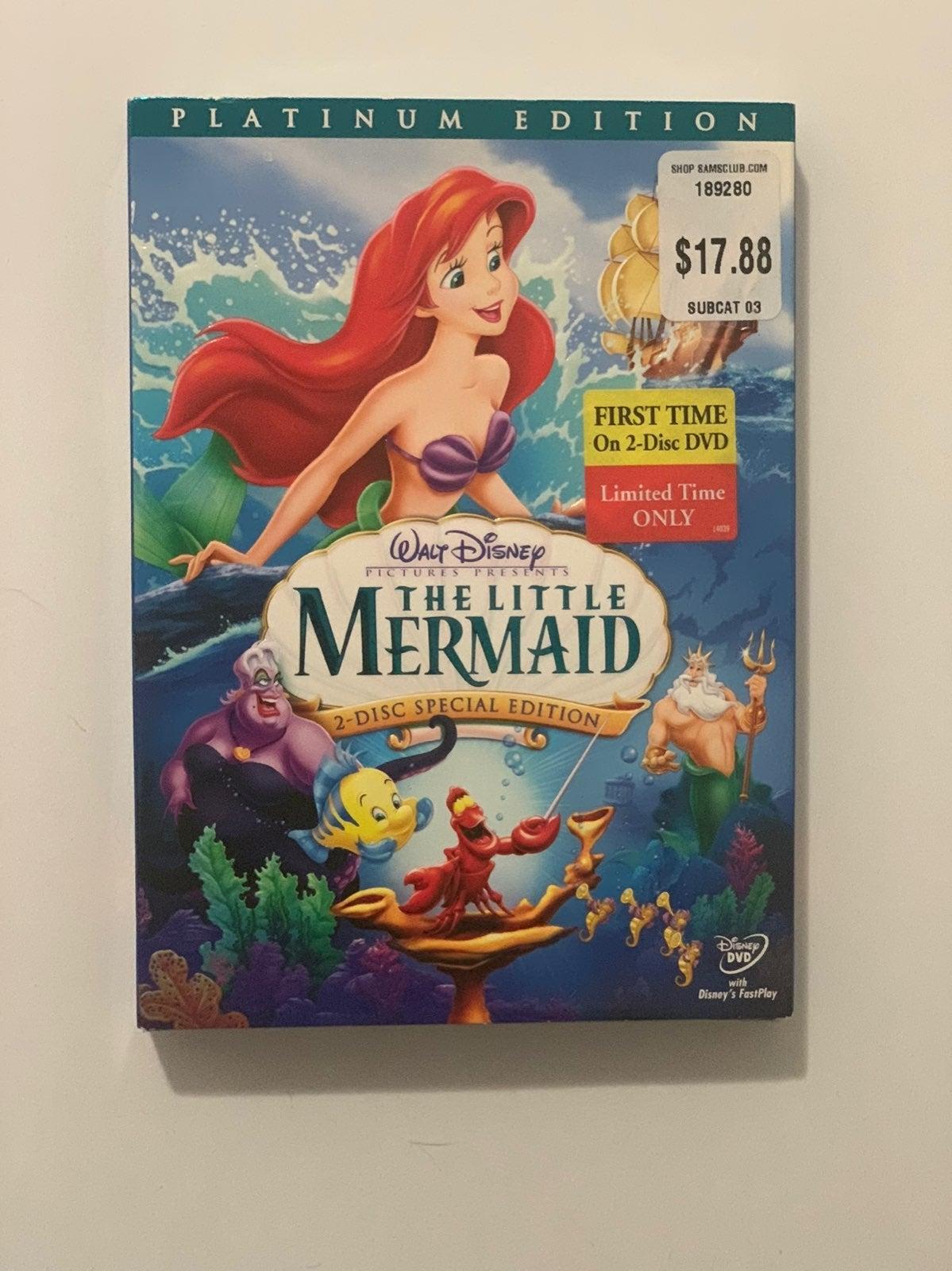 Disney The Little Mermaid DVD - factroy