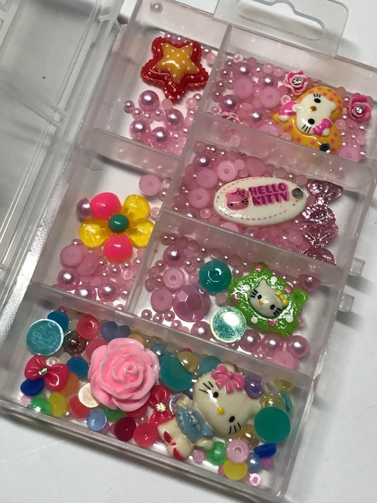 Cute box decoration nail