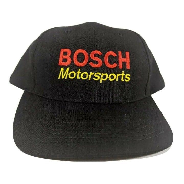Bosch Motorsports Hat Black Racing Cap
