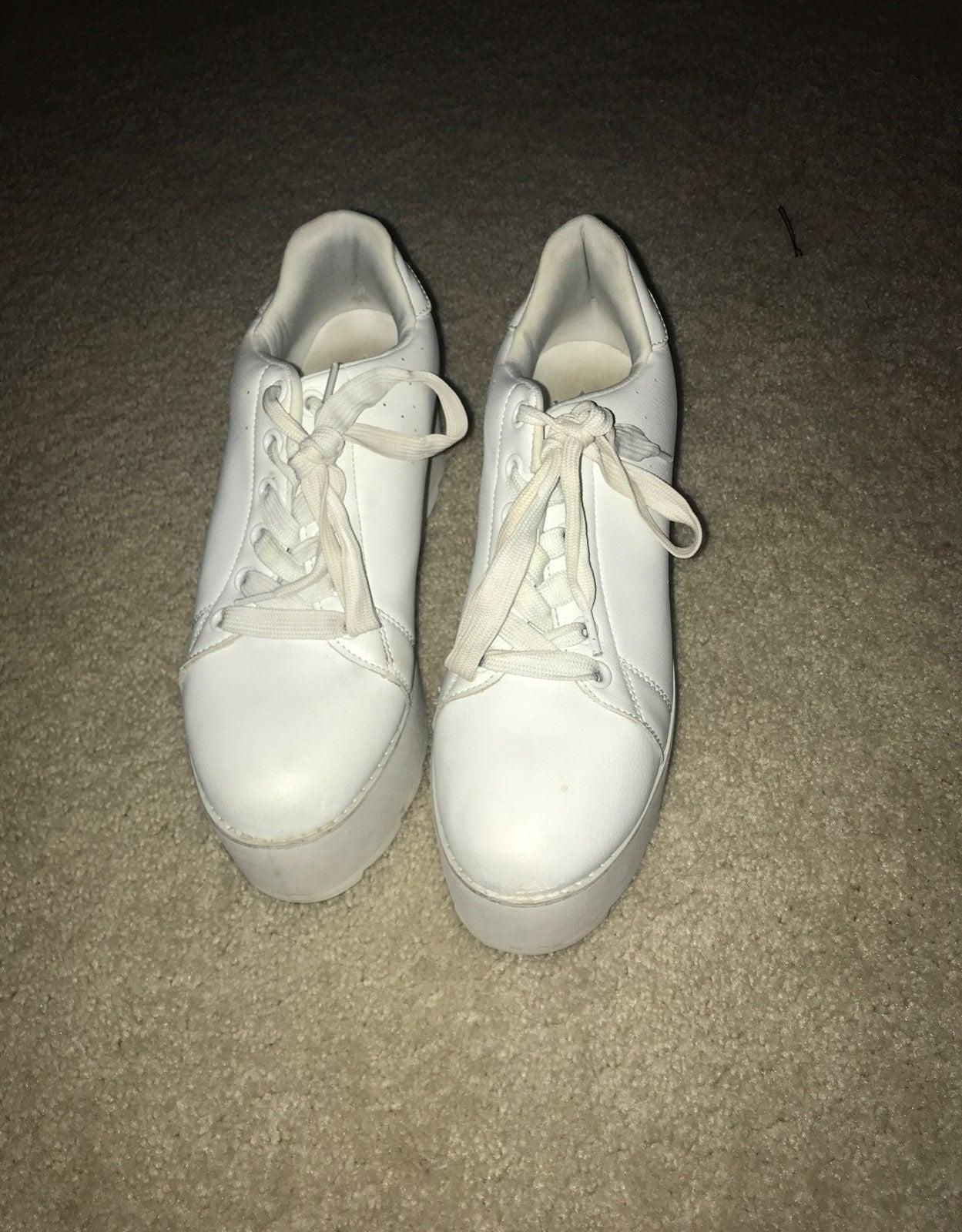 angelic lala platform sneakers