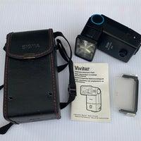 Vivitar Camera Flash With Accessories