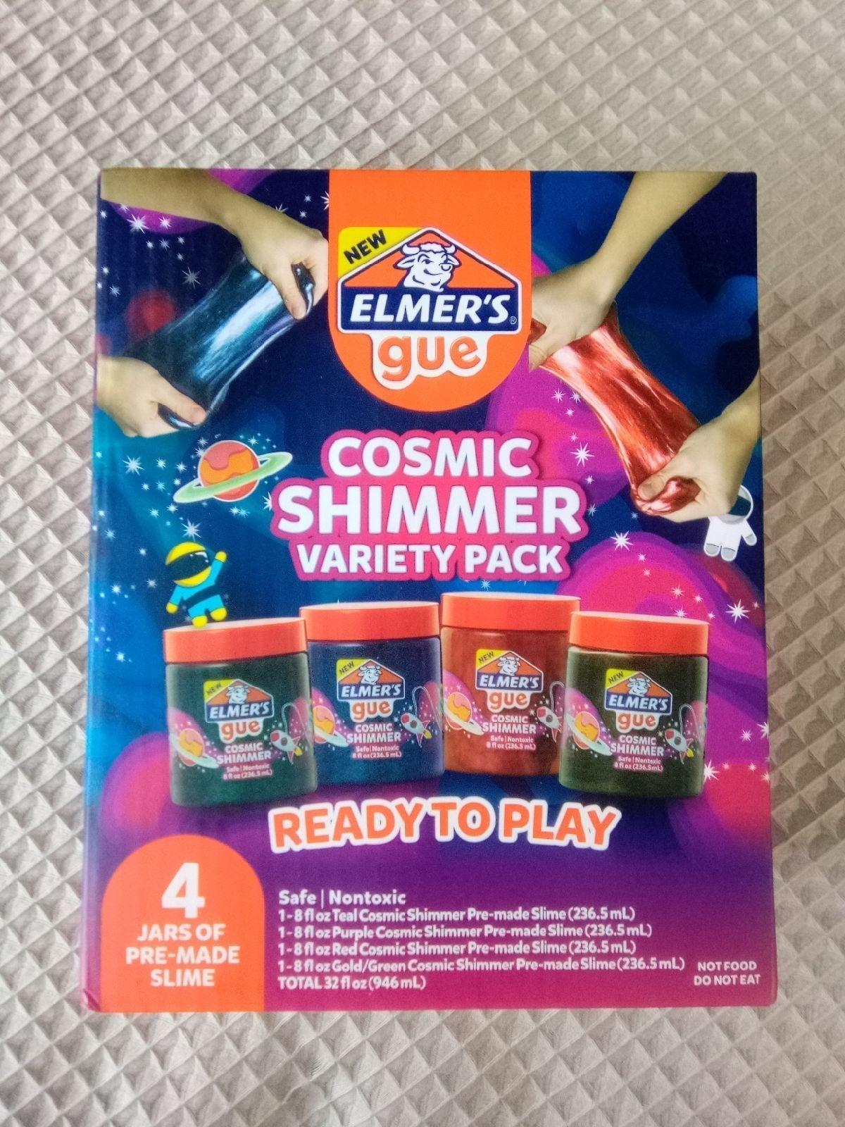 Cosmic Shimmer Slime by Elmer's Glue