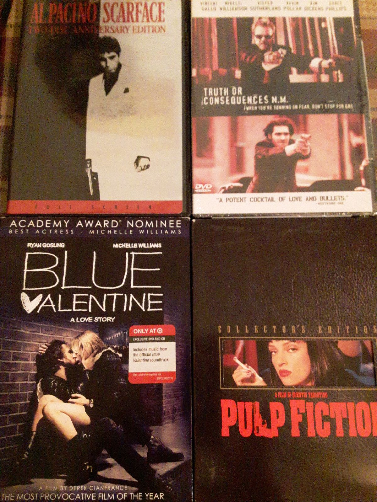 Action movie DVD lot