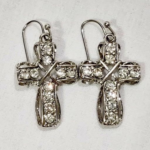 Premier Silver Cubic Zirconia Earrings