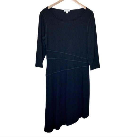 Garnet Hill wool long sleeve dress 14