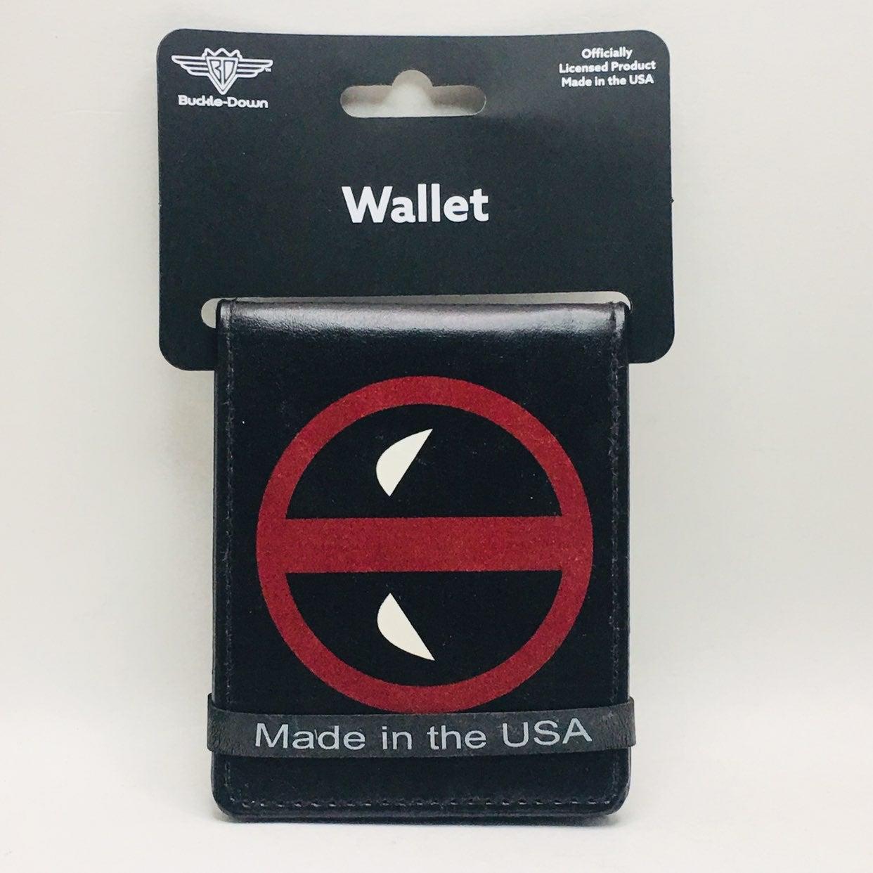 Buckle Down Deadpool BiFold Vegan Wallet