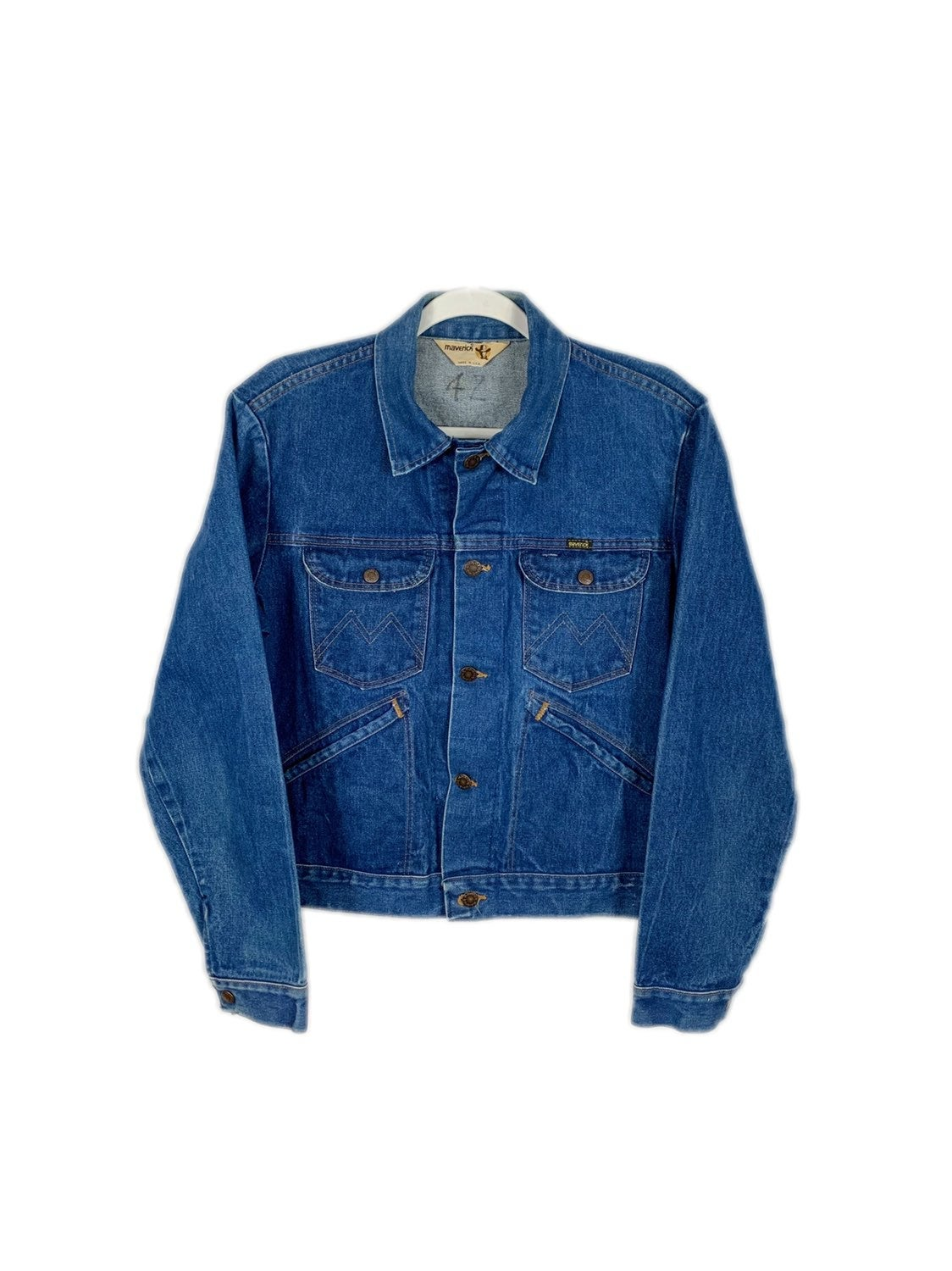 80's Maverick Vintage Denim Jacket
