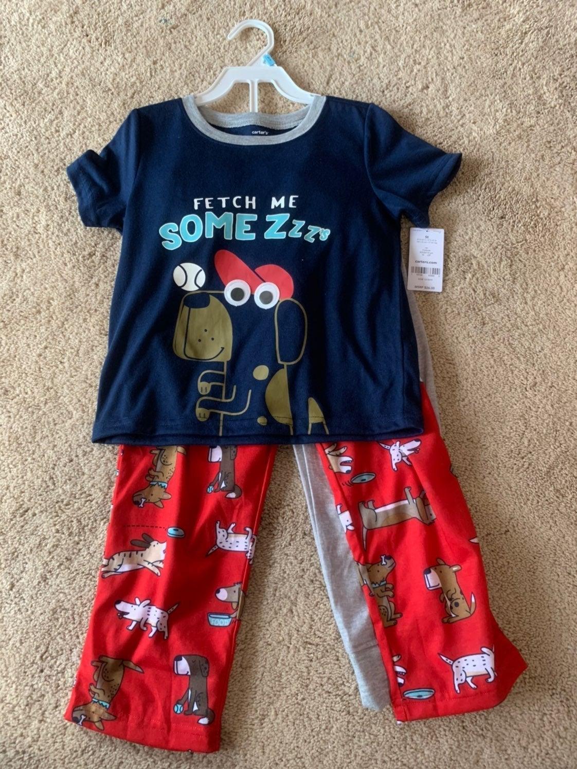 Boys 3pc Pajamas size 5T