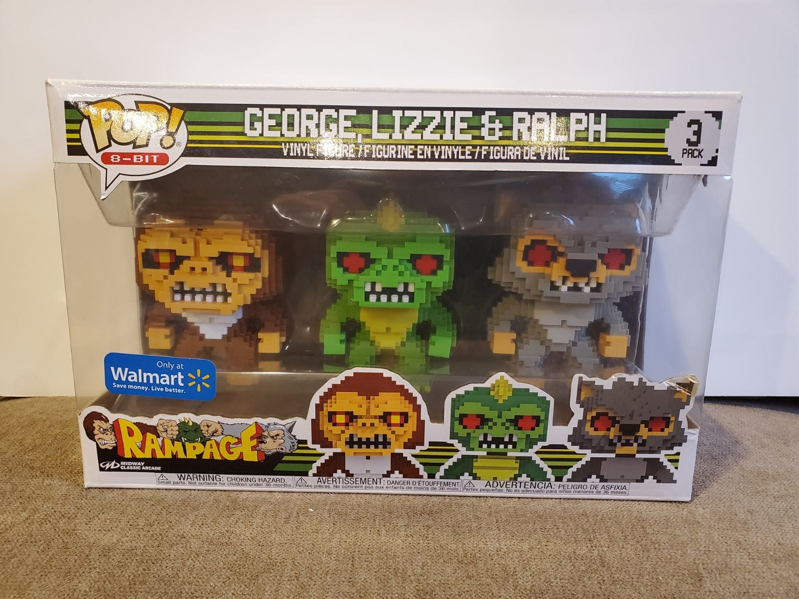Funko Pop George Lizzie Ralph