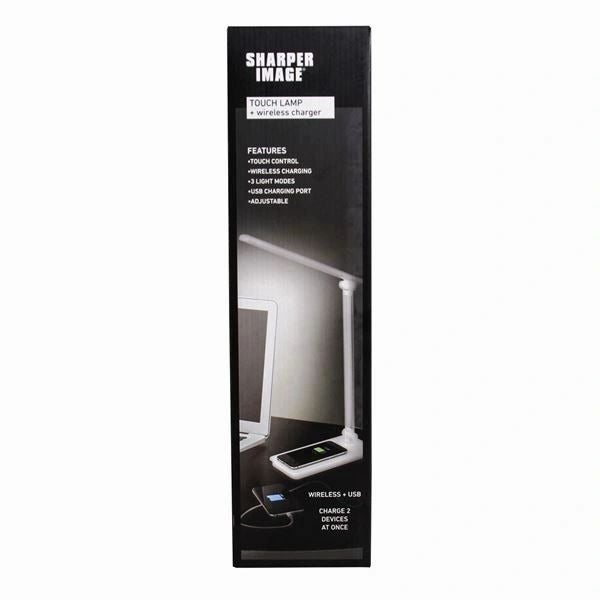Sharper Image Touch Lamp - phone charger