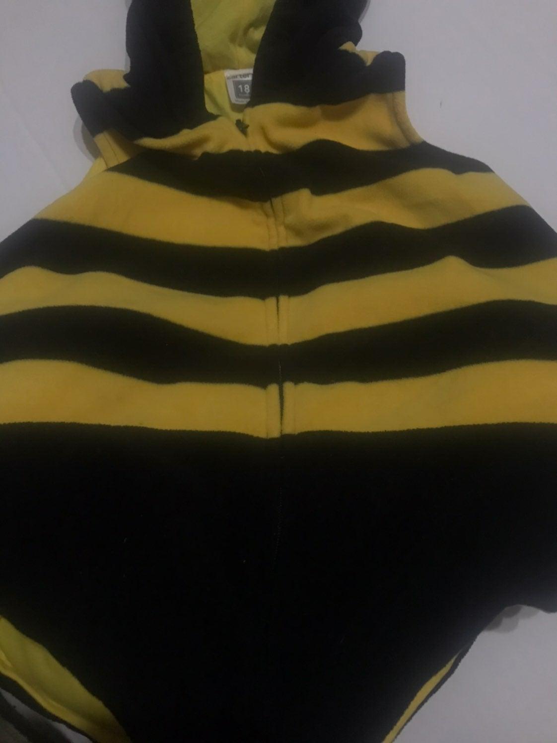 Bumble bee baby halloween costume