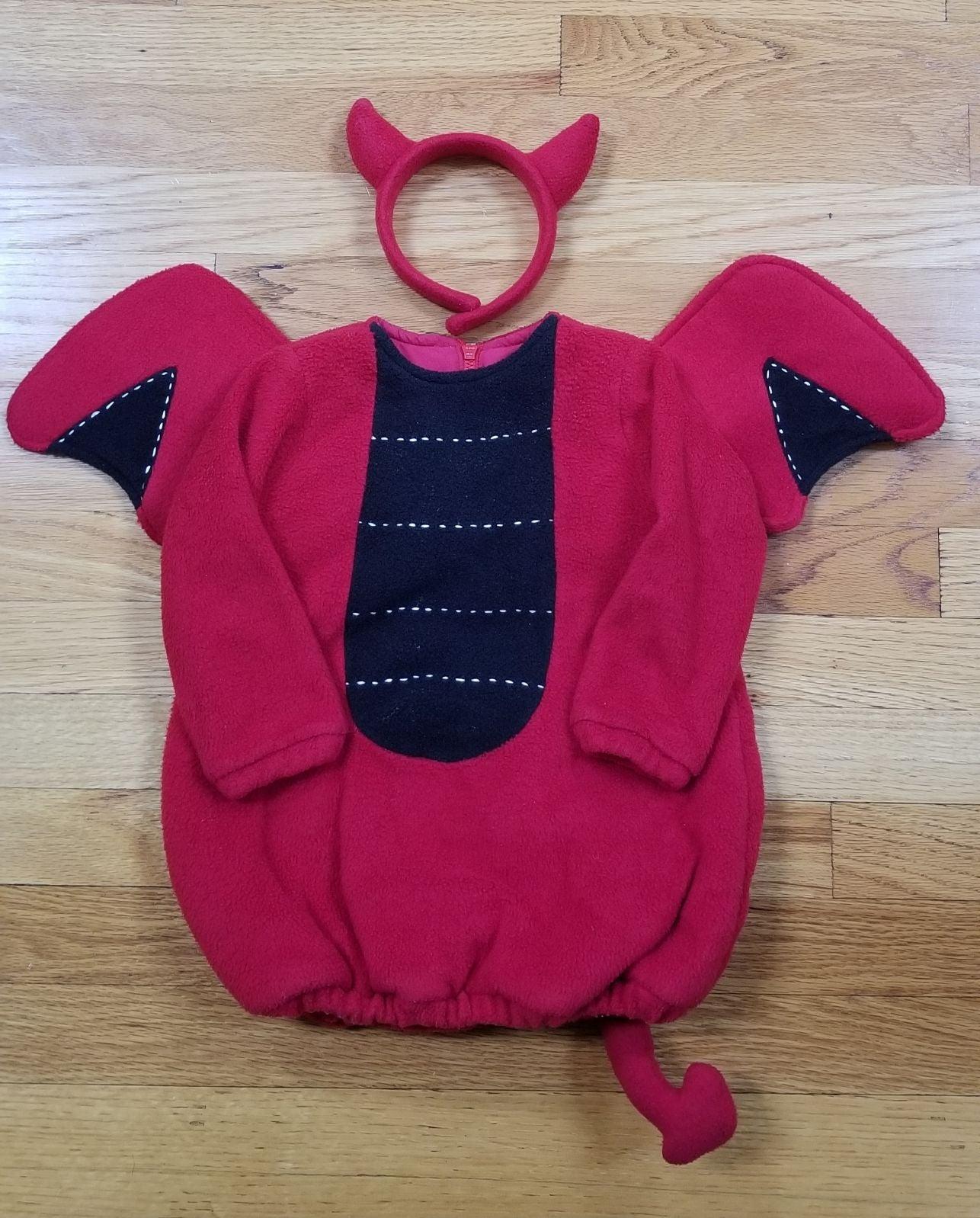 Pottery Barn Toddler Devil Costume