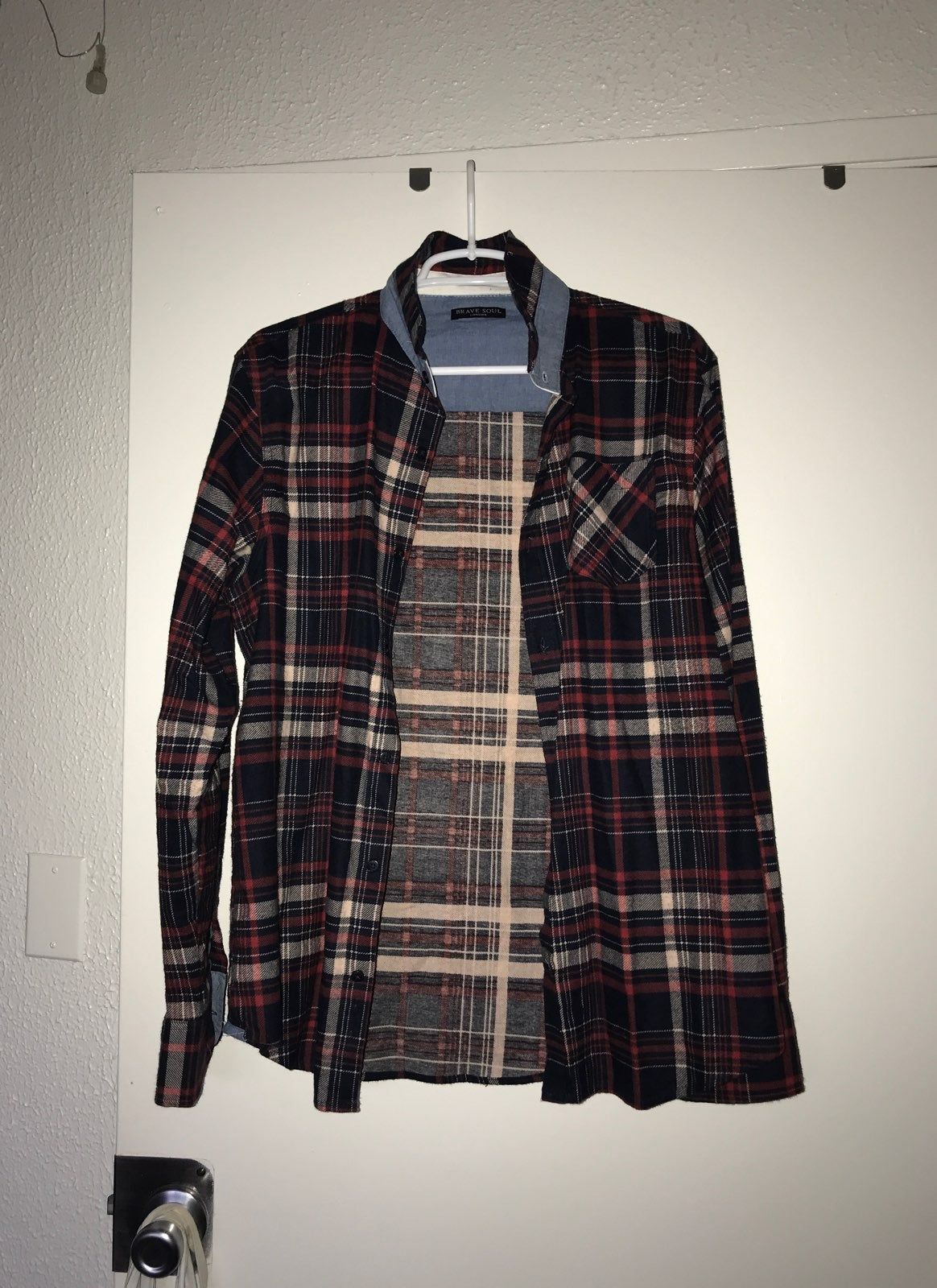 Brave Soul Men's Flannel Shirt