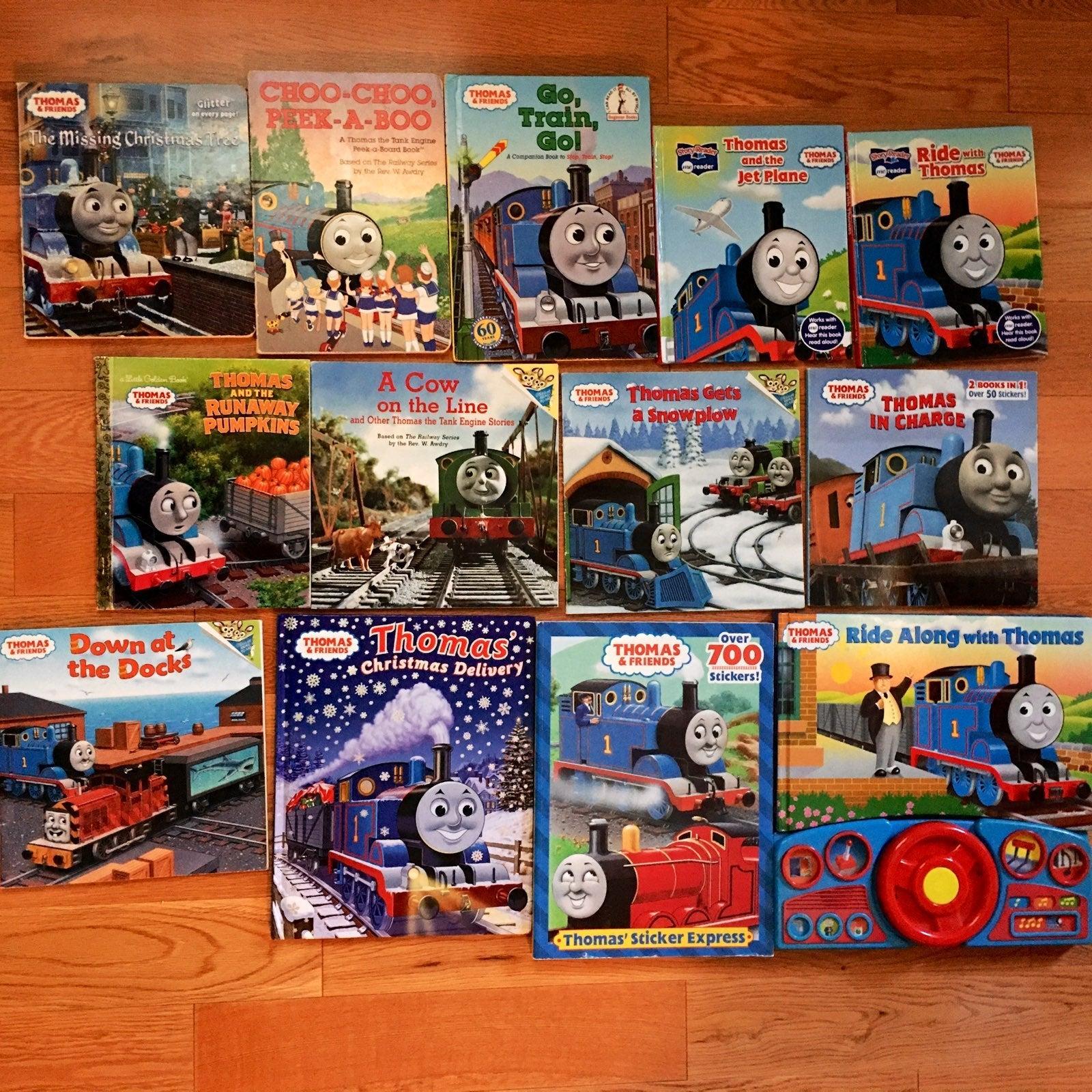 Bundle of 12: Thomas & Friends books