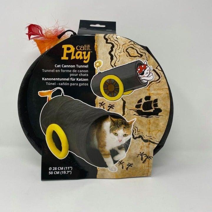Catit Play Pirates Cat Tunnel Black