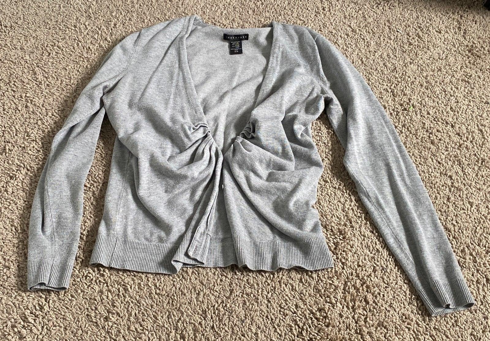 Grey sweater Womens Size M soft